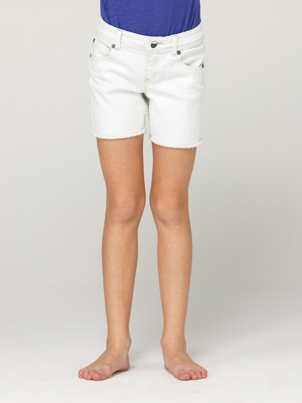 0 Girls 7-14 Long Trippers Shorts  488013 Roxy