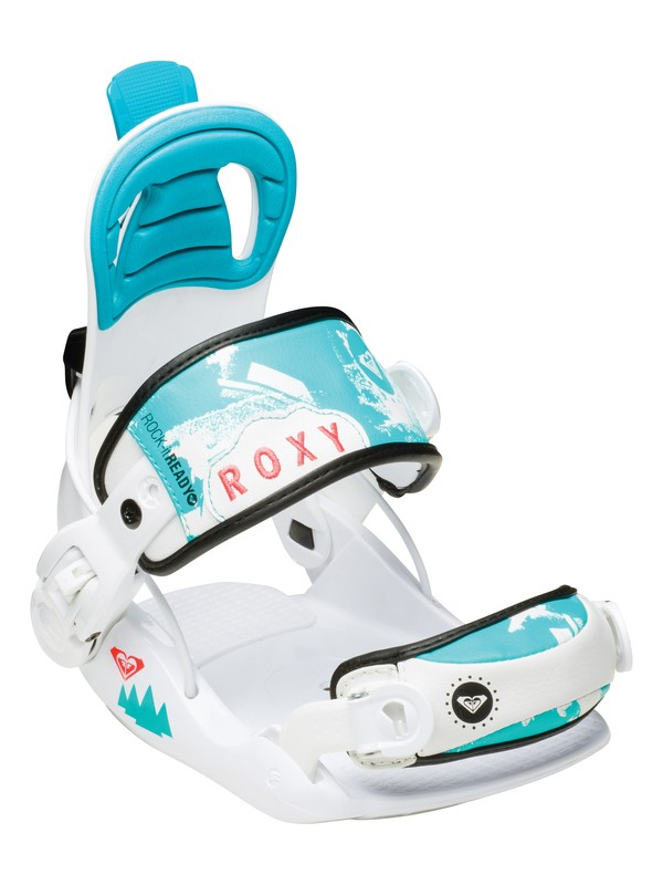 "0 Girl's Rock-It Ready Youth ""Xtra Small"" Snowboard Bindings  5235205 Roxy"