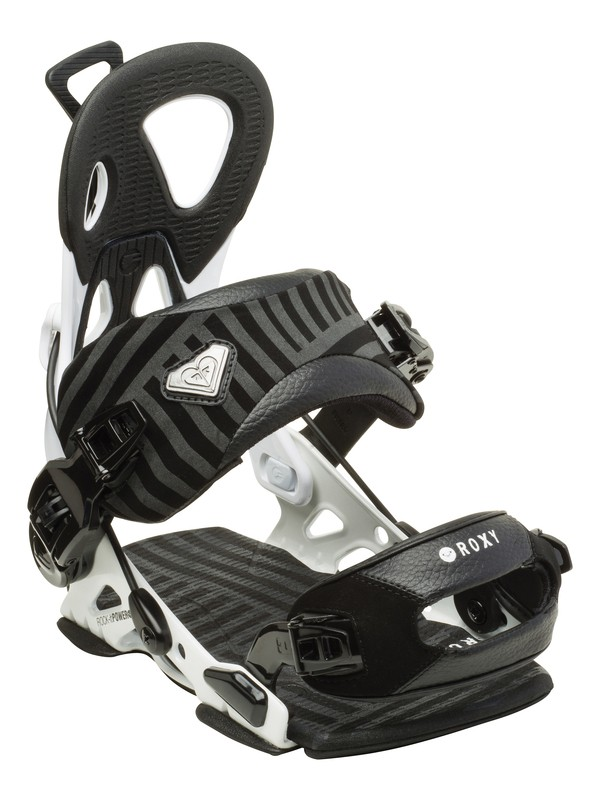 "0 Rock-It Power ""Medium"" Snowboard Bindings  5235410 Roxy"