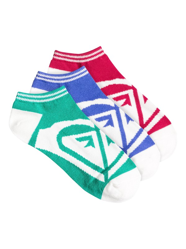 0 Roxy Logo No Show Sock  82139F Roxy
