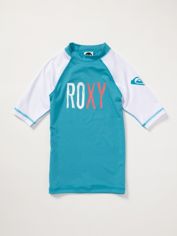 0 Girls 7-14 Stir It Up SS Rashguard  AQGWR00002 Roxy