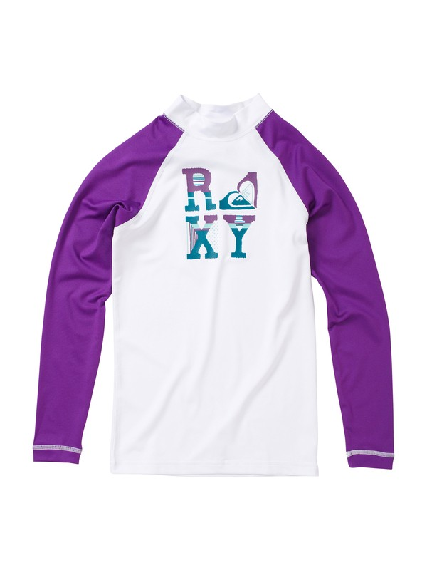 0 Girls 7-14 Live It Up LS Rashguard  AQGWR00005 Roxy