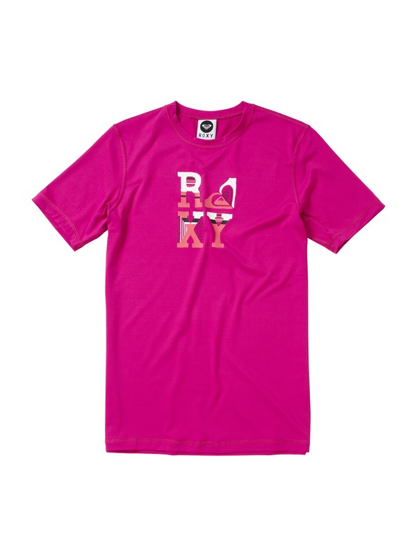 0 Girls 7-14 Betsy SS Rashguard  AQGWR00010 Roxy