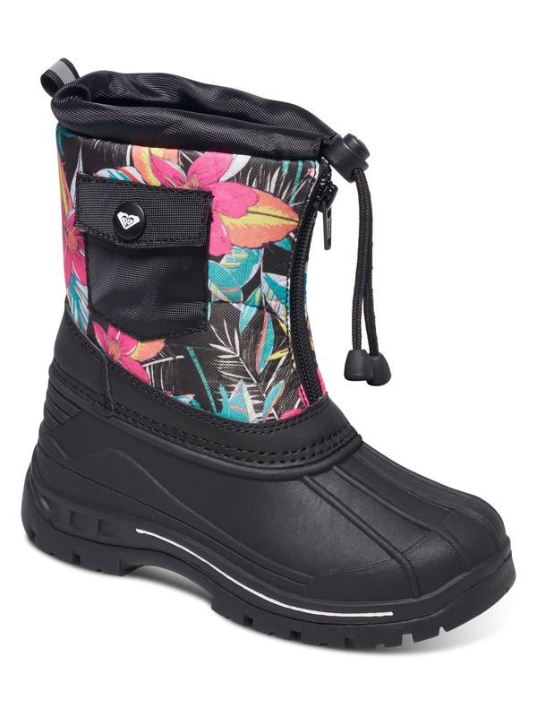 0 Girl's 7-14 Nikita Snow Boots  ARGB500005 Roxy