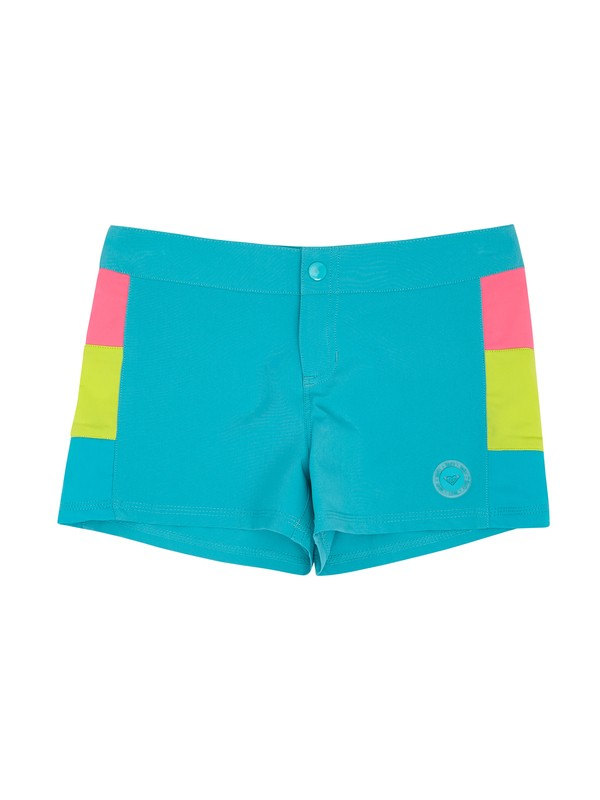 0 Girls 7-14 Heart and Surf RG Shorts  ARGBS00015 Roxy