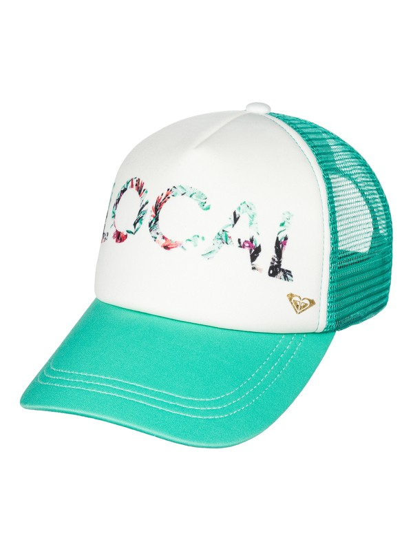 0 Girls Just Ok Trucker Hat  ARGHA03003 Roxy