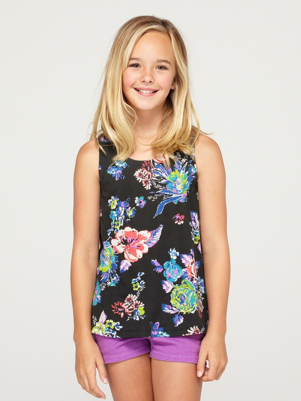 0 Girls 7-14 Hideaway Tank Top  ARGKT00018 Roxy