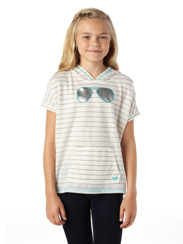 0 Girls 7-14 Double Vision Hybrid Top  ARGKT00051 Roxy