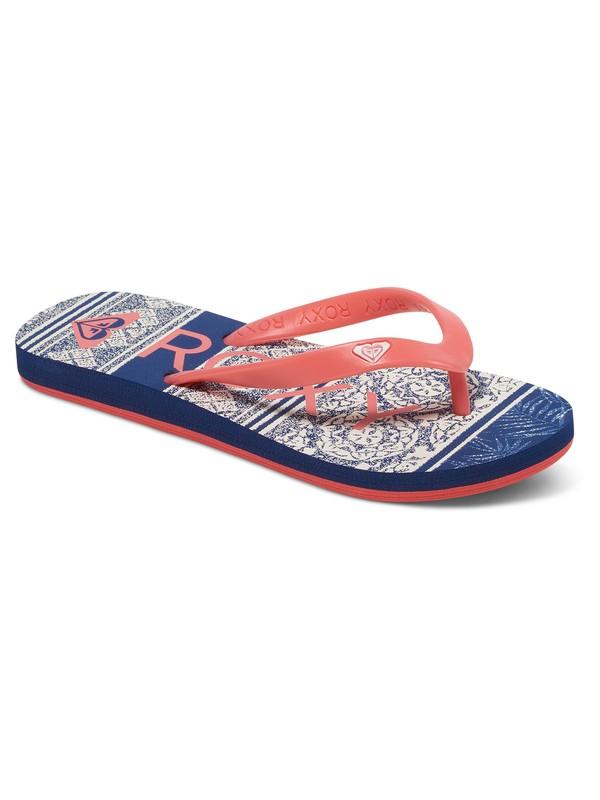 0 Tahiti - Flip-Flops for Girls Red ARGL100030 Roxy