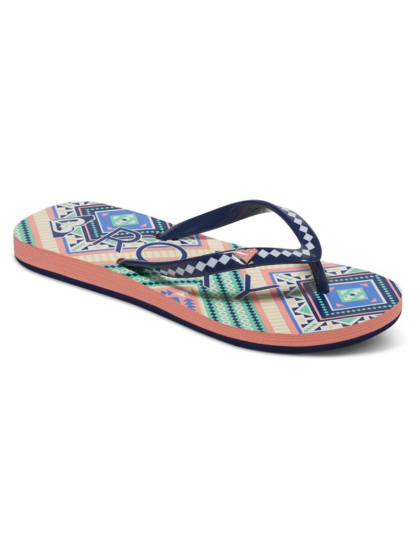 0 Pebbles - Flip-Flops for Girls Orange ARGL100031 Roxy