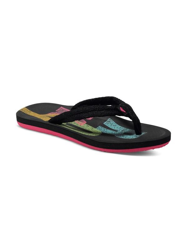 0 Girls 7-14 Volcano Flip Flops  ARGL100069 Roxy