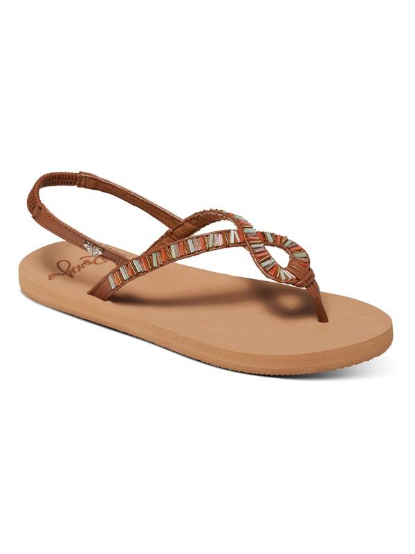 0 Girl's 7-14 Hale Sandals  ARGL100156 Roxy