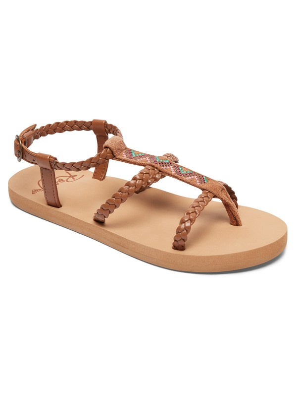 0 Girl's 7-14 Keke Sandals  ARGL100162 Roxy