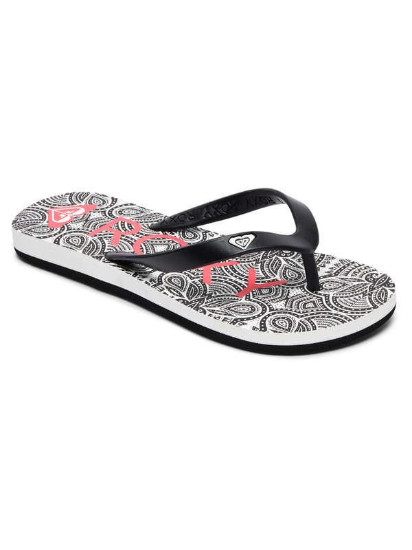 0 Tahiti - Flip-Flops for Girls Black ARGL100181 Roxy