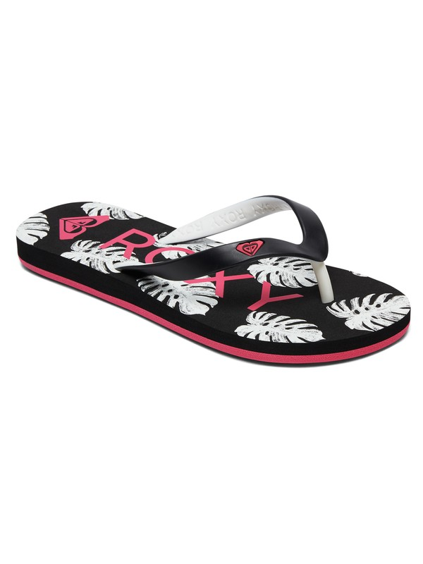 0 Tahiti - Tongs pour Fille Noir ARGL100181 Roxy