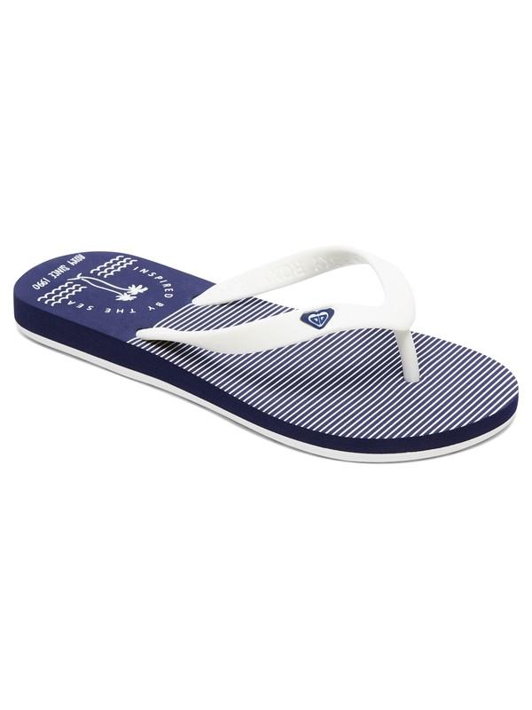 0 Girls 7-14 Tahiti Flip Flops Blue ARGL100181 Roxy