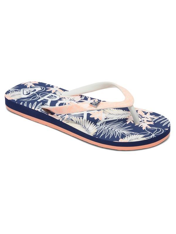 0 Pebbles - Flip-Flops for Girls Blue ARGL100182 Roxy