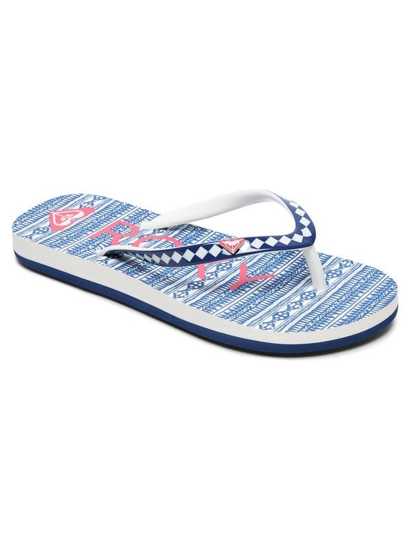 0 Girl's 7-14 Pebbles Flip-Flops Blue ARGL100182 Roxy
