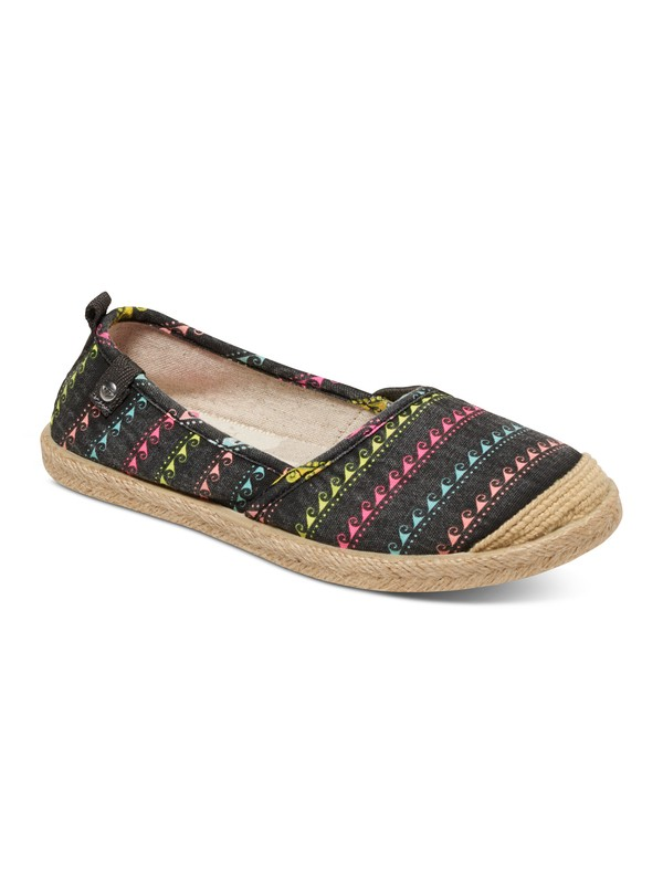 0 Girls 7-14 Flamenco Slip-on Shoes  ARGS600071 Roxy