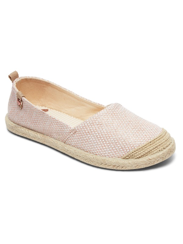 0 Flora - Chaussures slip-on pour Fille Rouge ARGS600087 Roxy