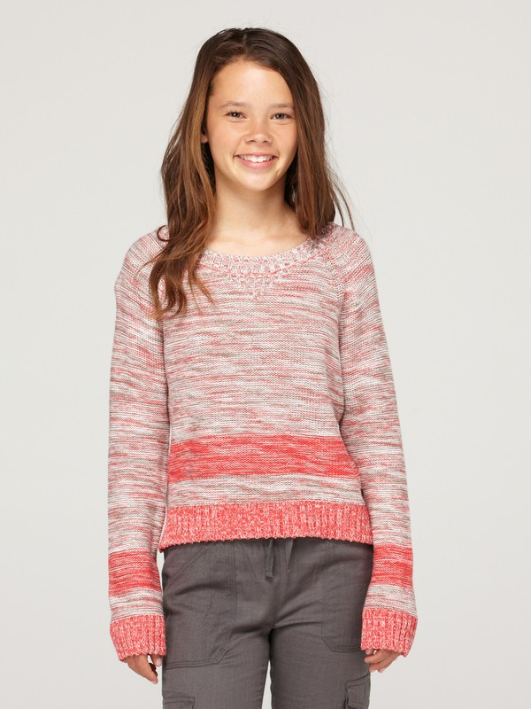 0 Girls 7-14 Real Deal Sweater  ARGSW00002 Roxy