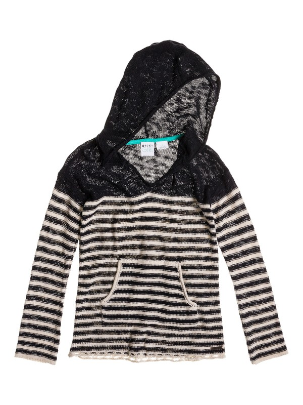 0 Girls 7-14 Ocean Boardwalk Pullover  ARGSW03001 Roxy