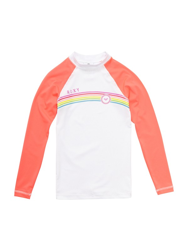 0 Girls 7- 14 From Above LS Girls Rashguard  ARGWR00014 Roxy