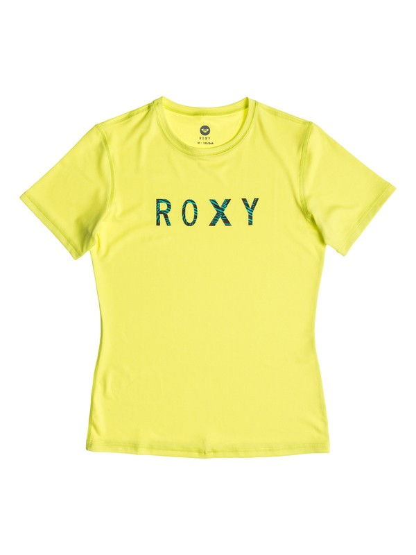 0 Palms Away - Short Sleeve Rashguard  ARGWR03011 Roxy