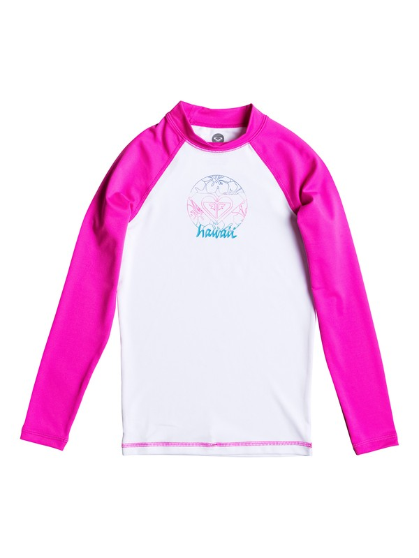 0 Aloha Roxy - Long Sleeve Rash Vest  ARGWR03021 Roxy