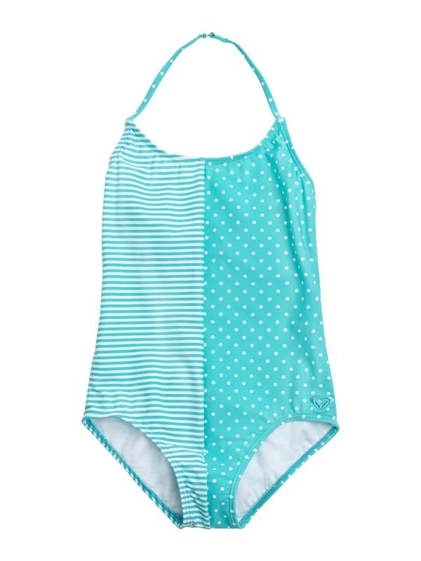 0 Girls 7-14 Doll Face Dot Tri One Piece Swimsuit  ARGX100005 Roxy
