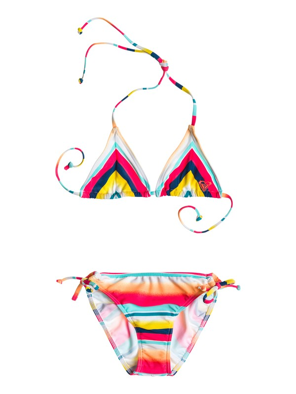 0 Girls 7-14 Sunsetter Tiki Tri Set  ARGX203000 Roxy