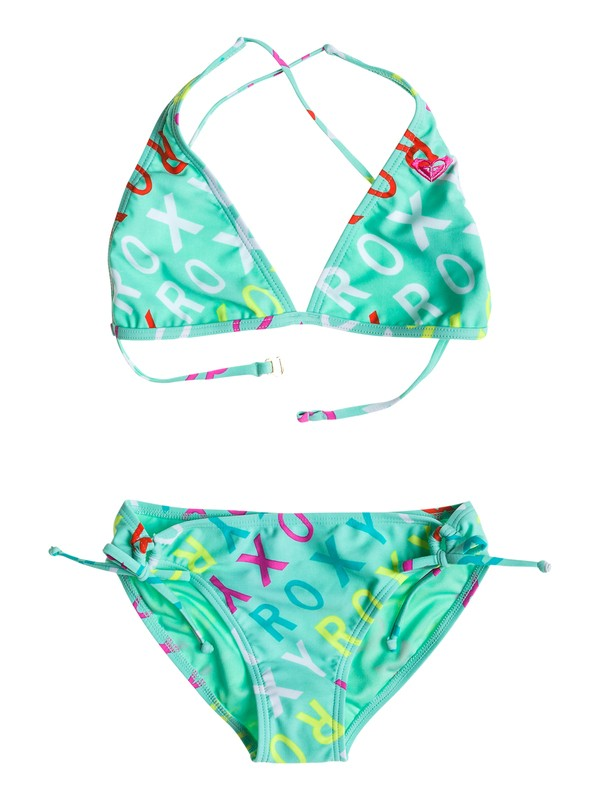 0 Halter Set Logo - Halter Triangle Set  ARGX203039 Roxy
