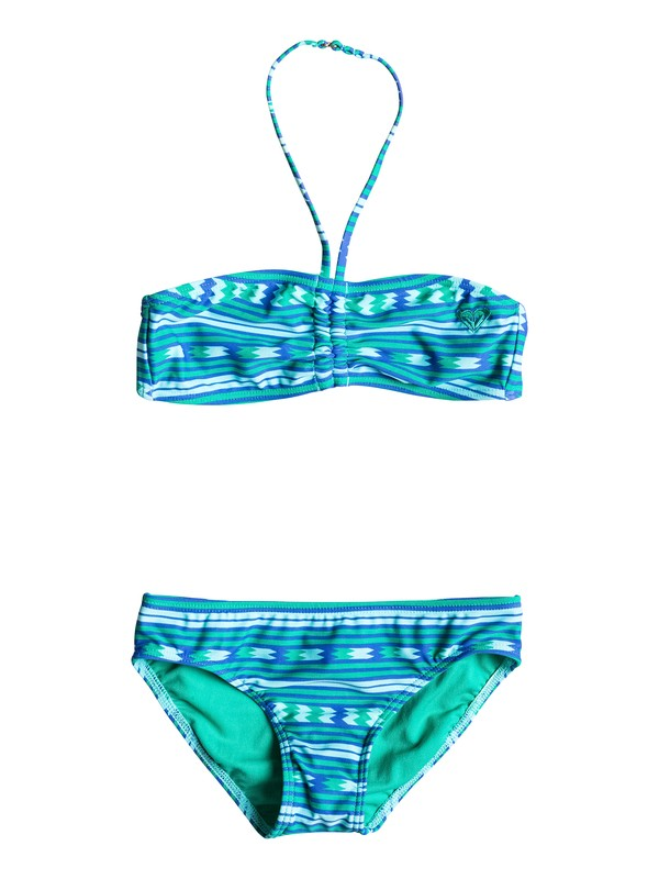 0 Bandeau & Basic - Ruched Bikini Set  ARGX203061 Roxy