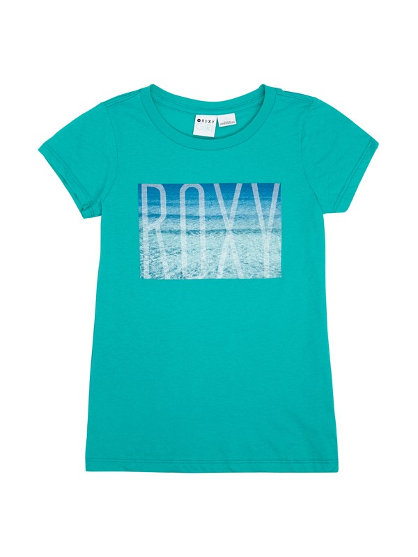 0 Girls 7-14 Rolling Tide Tee  ARGZT00277 Roxy