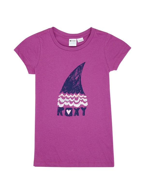 0 Girls 7-14 Sharky Fin Tee  ARGZT00279 Roxy