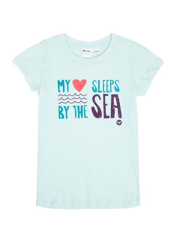 0 Girls 7-14 Sea Sleeper Tee  ARGZT00292 Roxy