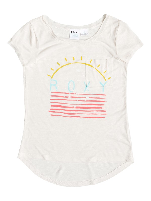 0 Girls 7-14 Morning Light Tee  ARGZT03014 Roxy