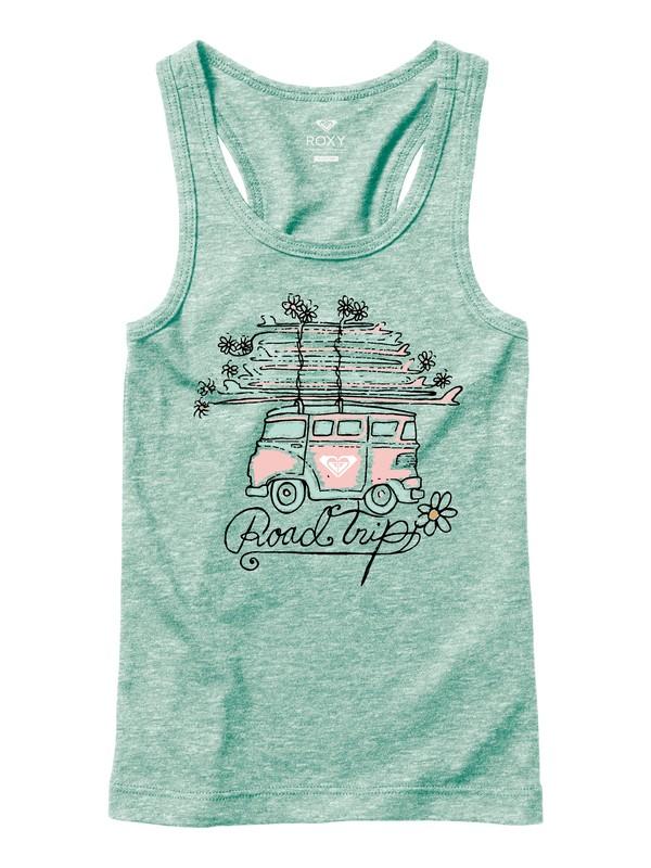 0 Girl's 7-14 Road Trippin Tank Top  ARGZT03171 Roxy
