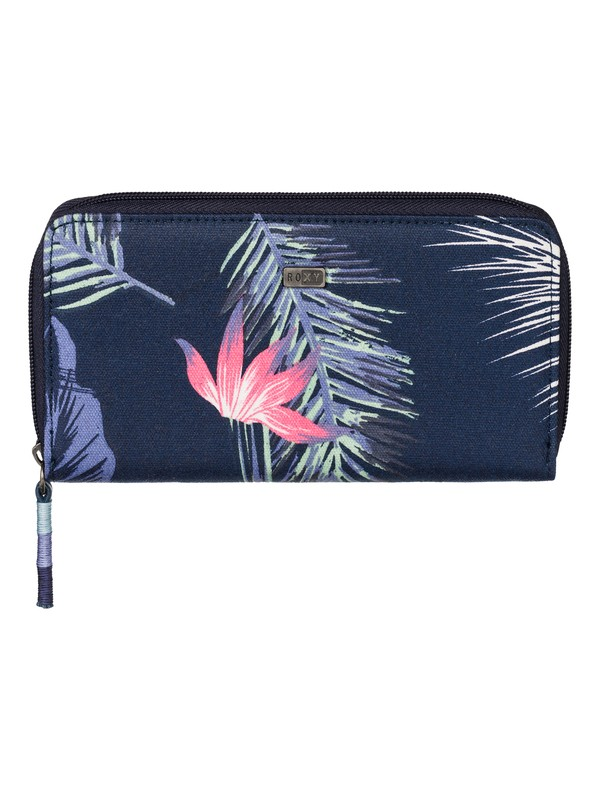 0 Sun Child - Zip Around Printed Wallet  ARJAA03056 Roxy