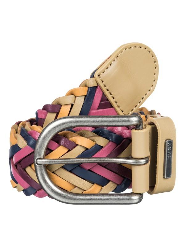 0 Glide High - Braided Leather Belt  ARJAA03120 Roxy