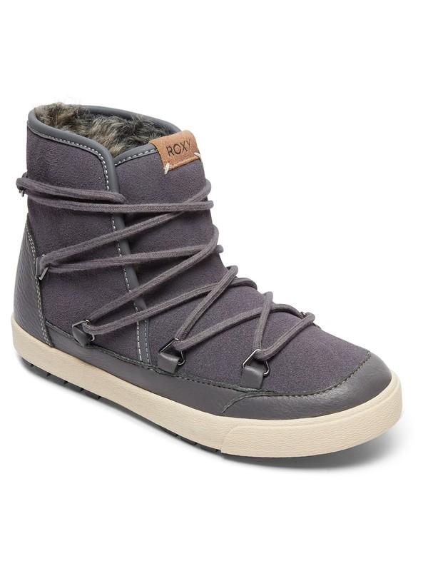 0 Darwin - Laarzen gevoerd met imitatiebont voor Dames Black ARJB300017 Roxy