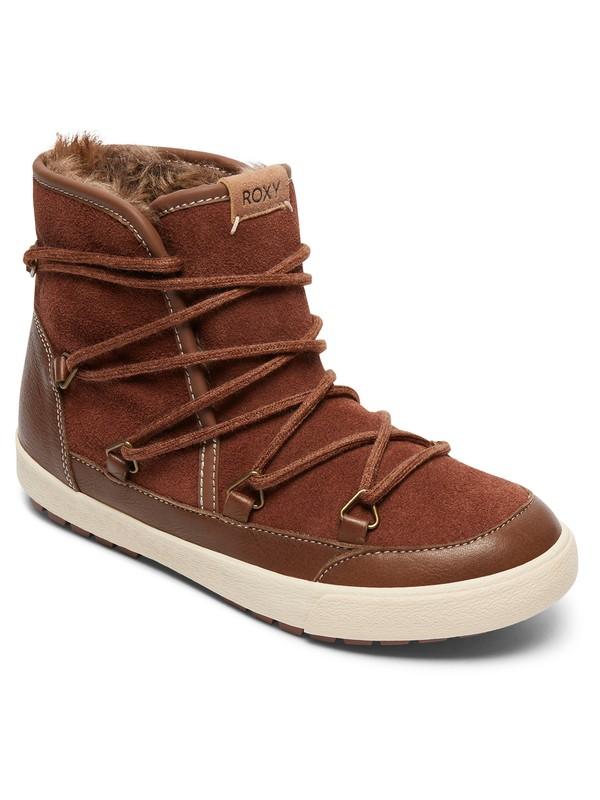 0 Darwin - Faux Fur Lined Boots Beige ARJB300017 Roxy