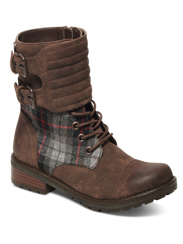 0 Emery Lace-Up Boots  ARJB700391 Roxy