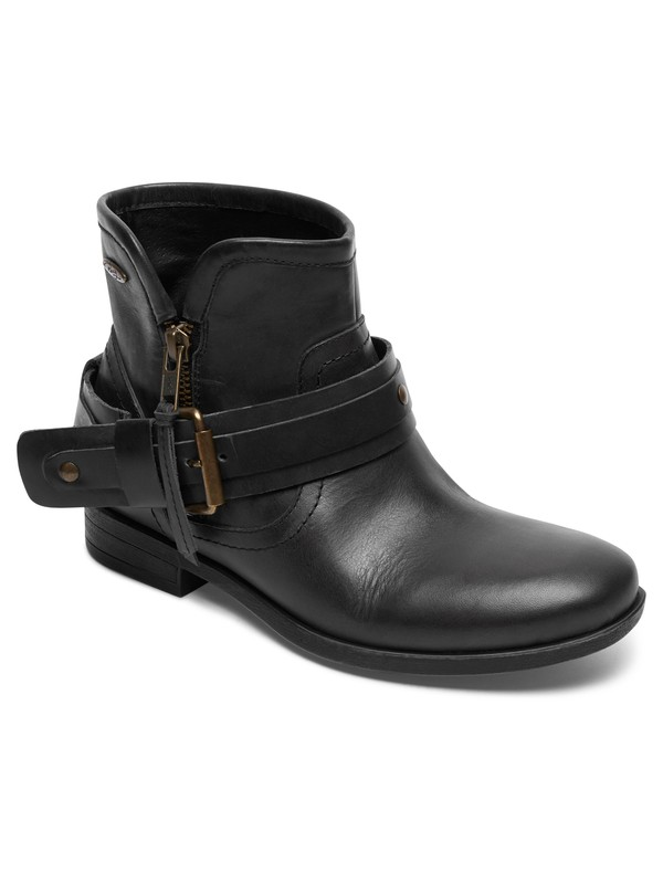 0 Castell - Leather Ankle Boots for Women  ARJB700541 Roxy