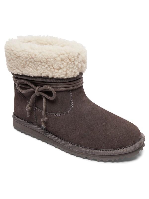 0 Penny - Suede Boots Black ARJB700551 Roxy