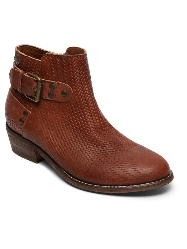 0 Ramos - Ankle Boots for Women Brown ARJB700552 Roxy