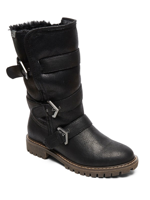 0 Rebel Boots Black ARJB700578 Roxy