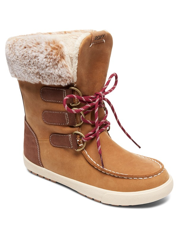 0 Rainier - Snow Boots for Women Beige ARJB700582 Roxy