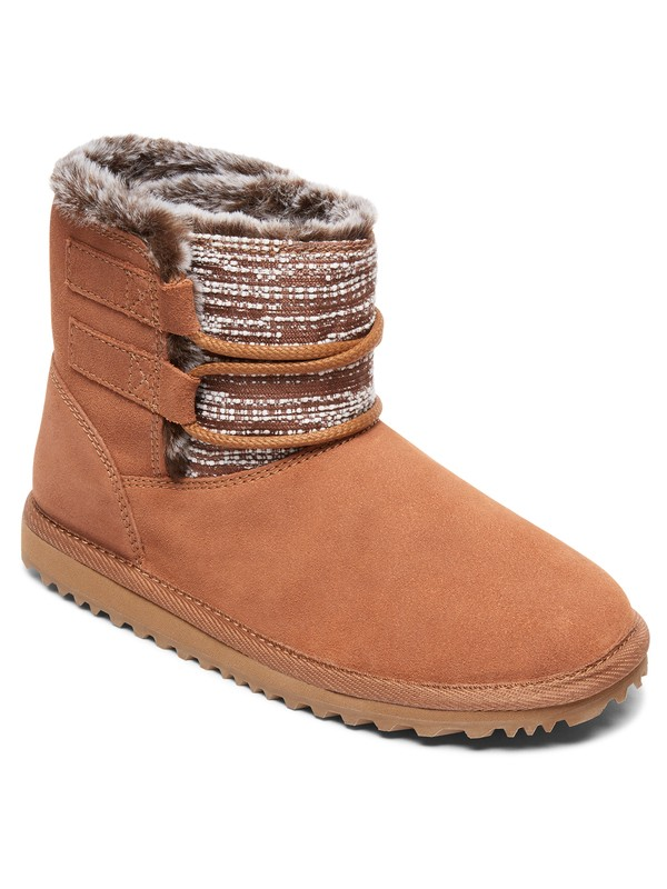 0 Tara - Snow Boots for Women Brown ARJB700585 Roxy