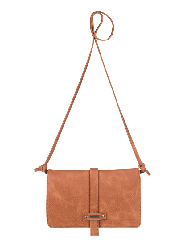 0 Globe Trotter - Vegan-Leather Shoulder Bag  ARJBA03025 Roxy
